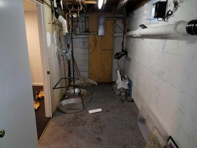 Hot Water Heater Rupture 1