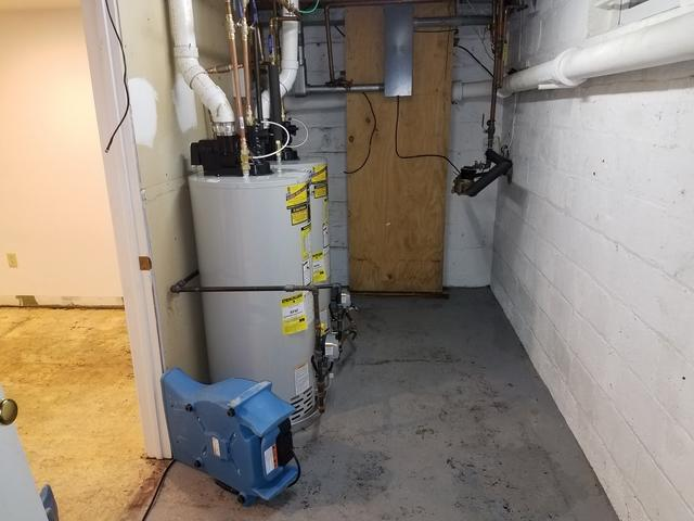 Hot Water Heater Rupture 2